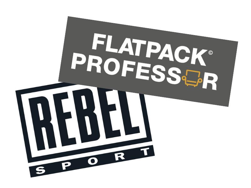 Catch The Flatpack Professor at Rebel Sport: Official Installer